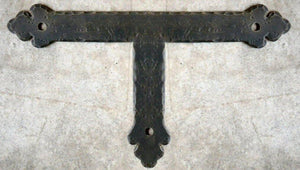 Load image into Gallery viewer, Mediterranean Iron T Face Plate