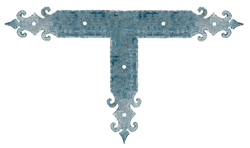 Romanesque Iron T Face Plate