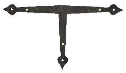 French Country Iron T Face Plate