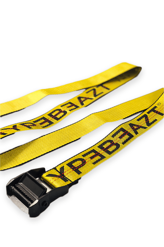 Image of   Hypebeazt Industrial Belt Yellow & Black