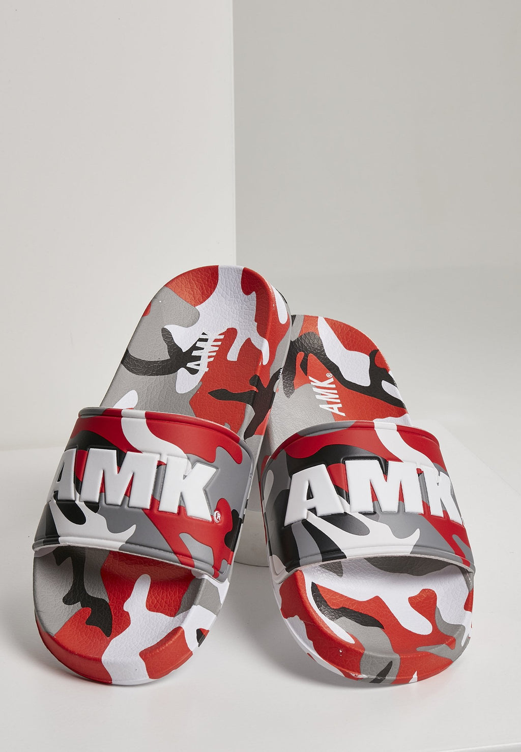 AMK Red Camo Slippers