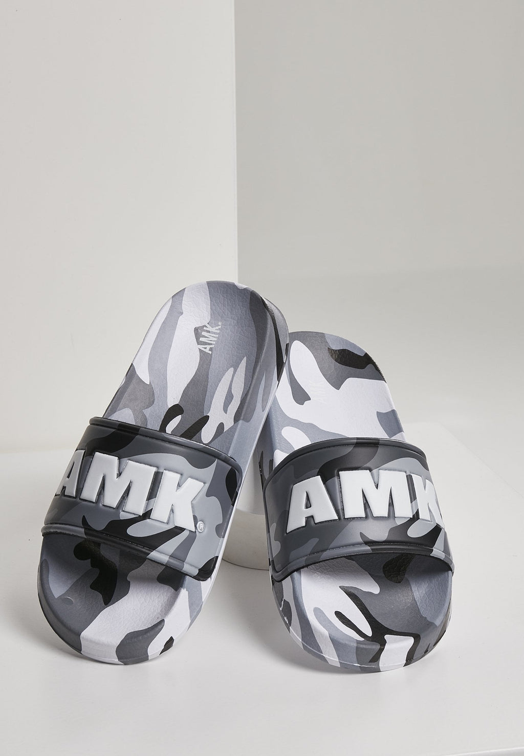 AMK Grey Camo Slippers