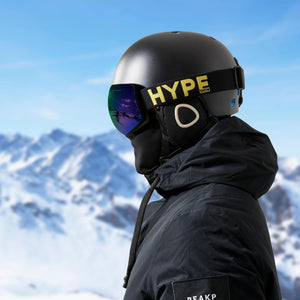 HypeSnow Blacked Out Yellow Ride Skibriller