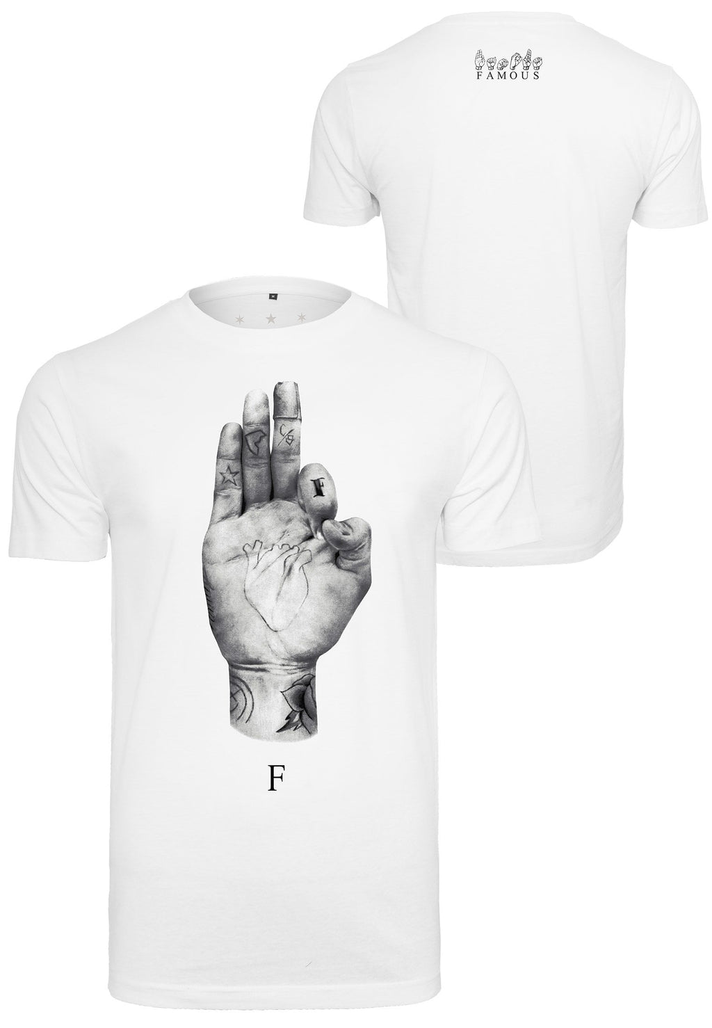 FMS Sign Tee - White