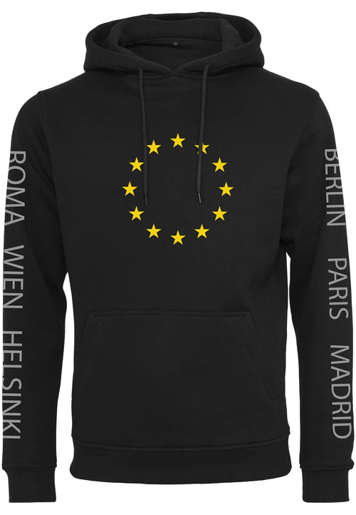 Euro Capital Hoody - Black