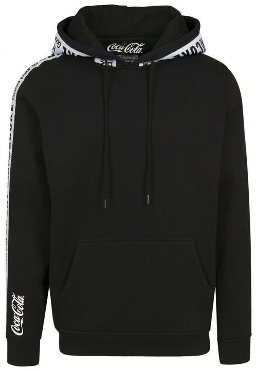 Coke Tape Hoody - Black