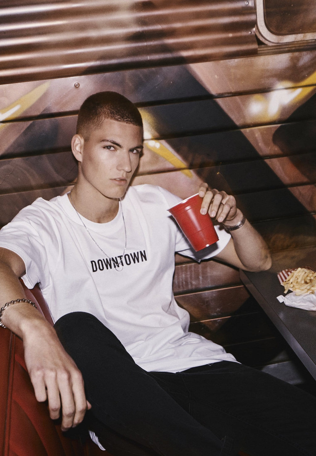 Downtown Tee - White