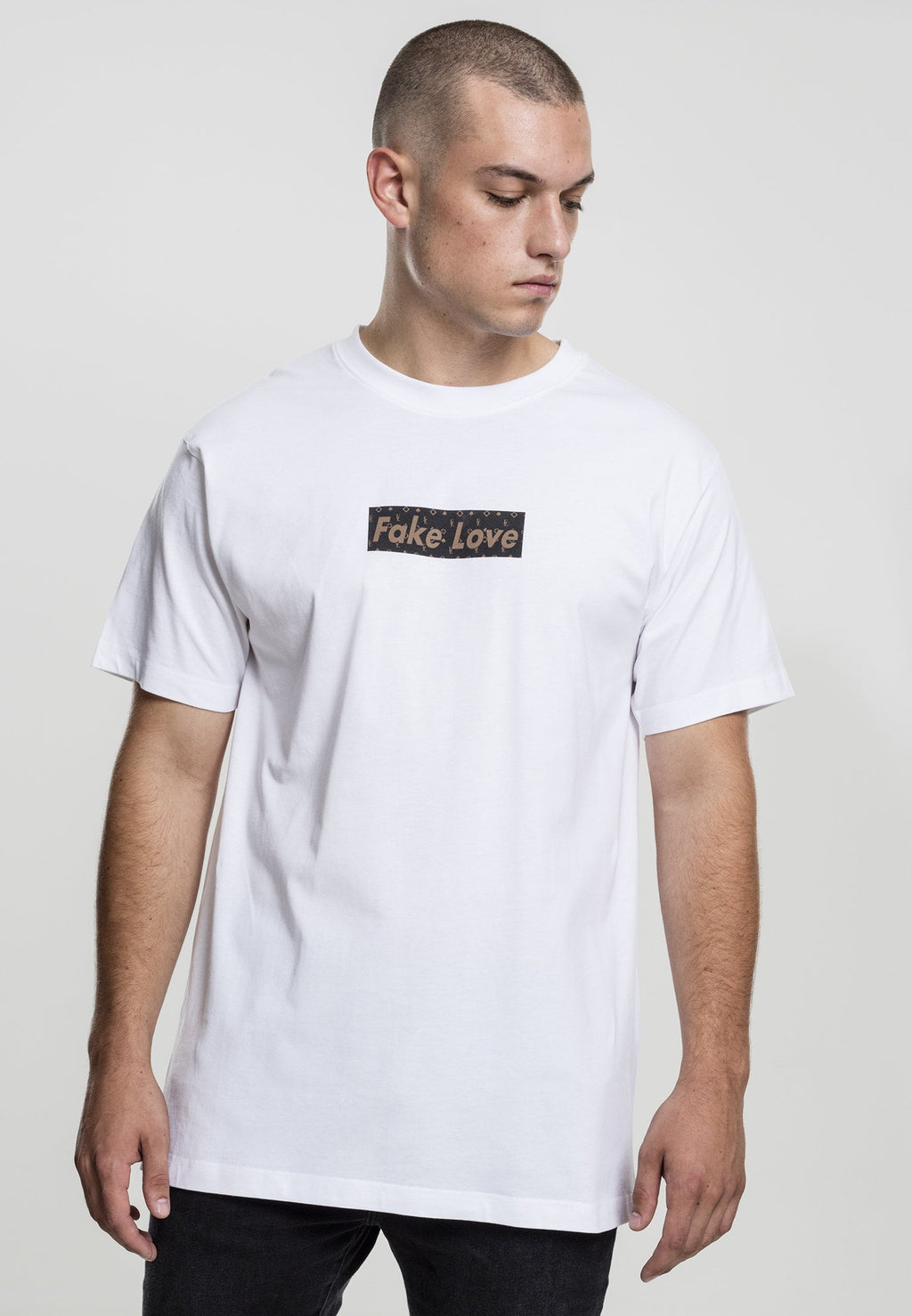 Fake Love Tee - White