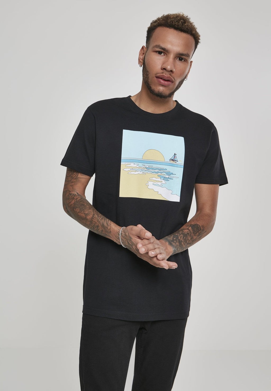 Horizon Tee - Black