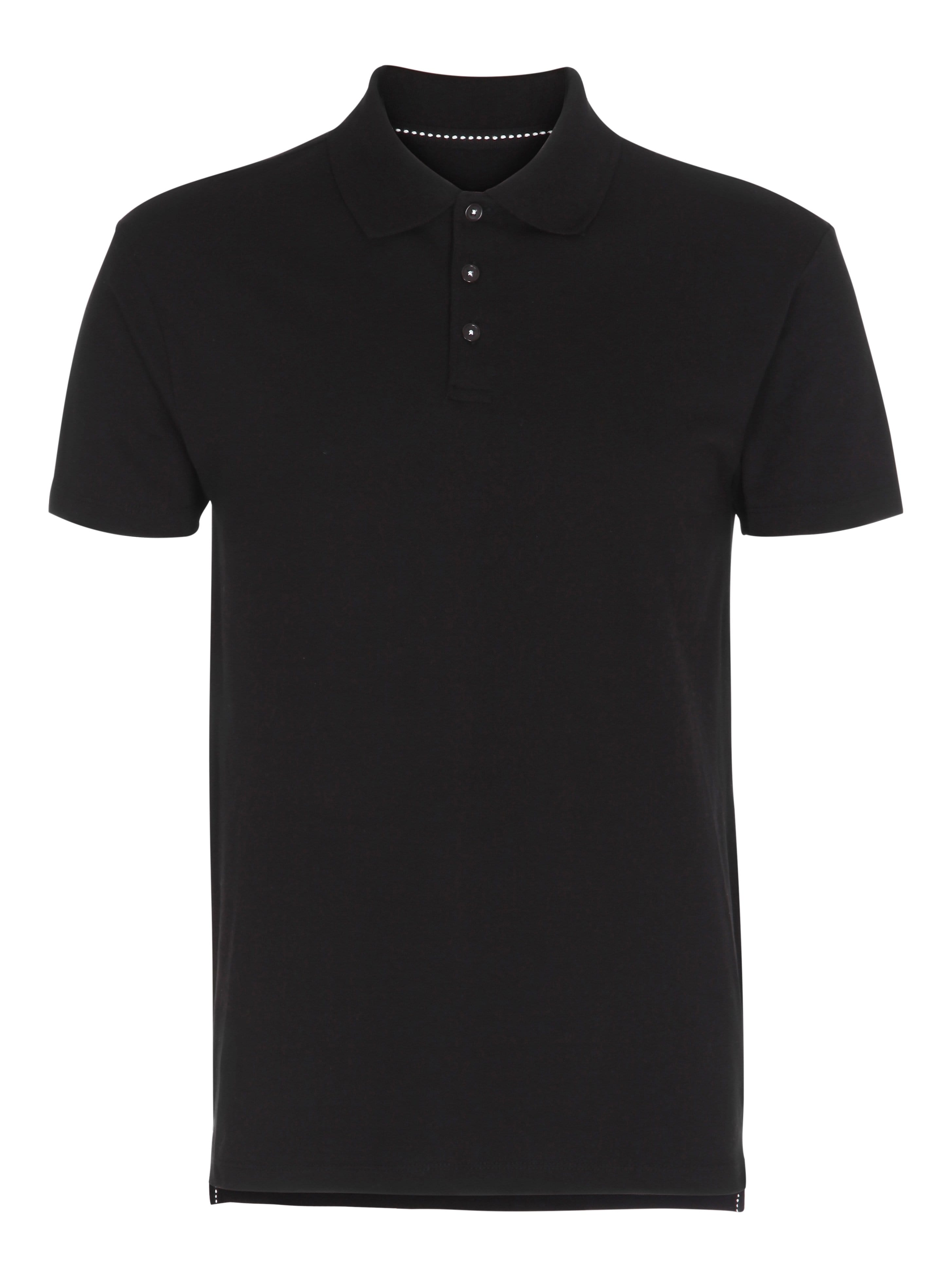 Image of   Muscle Fit Polo - Black