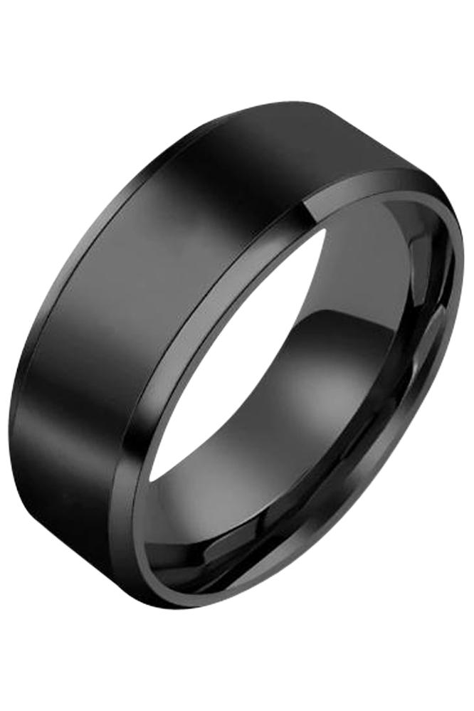 Classic Titanium Ring - Sort