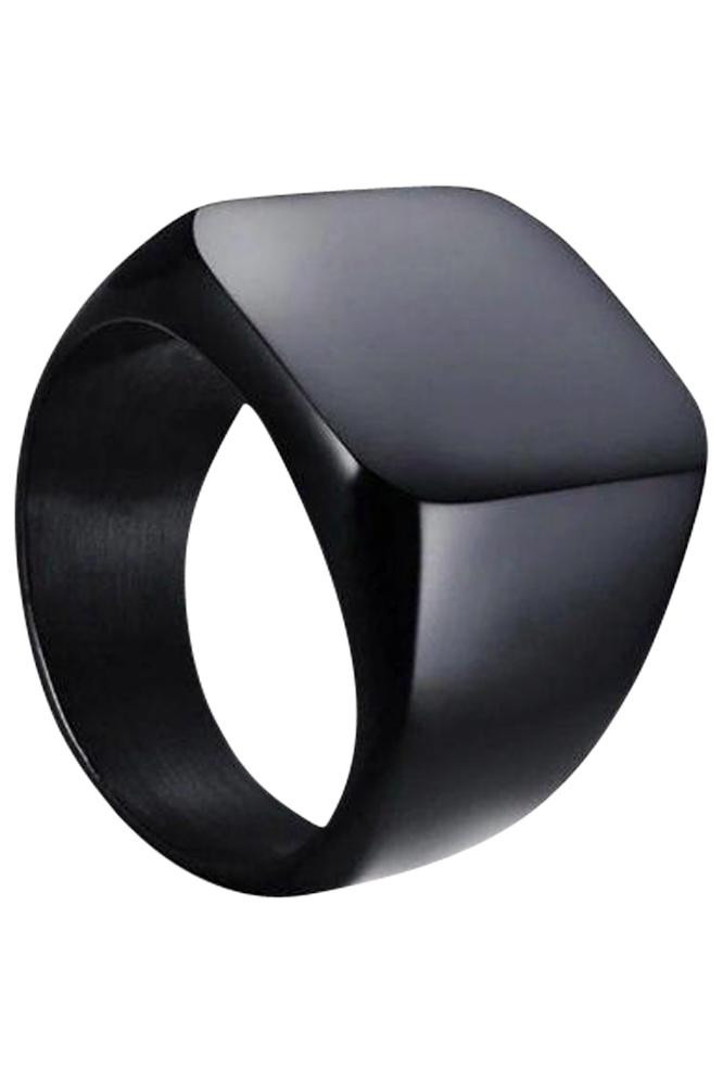Prime Jewelry - Black Raw Ring
