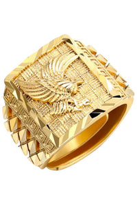 Prime Jewelry - Golden Royal Eagle Ring
