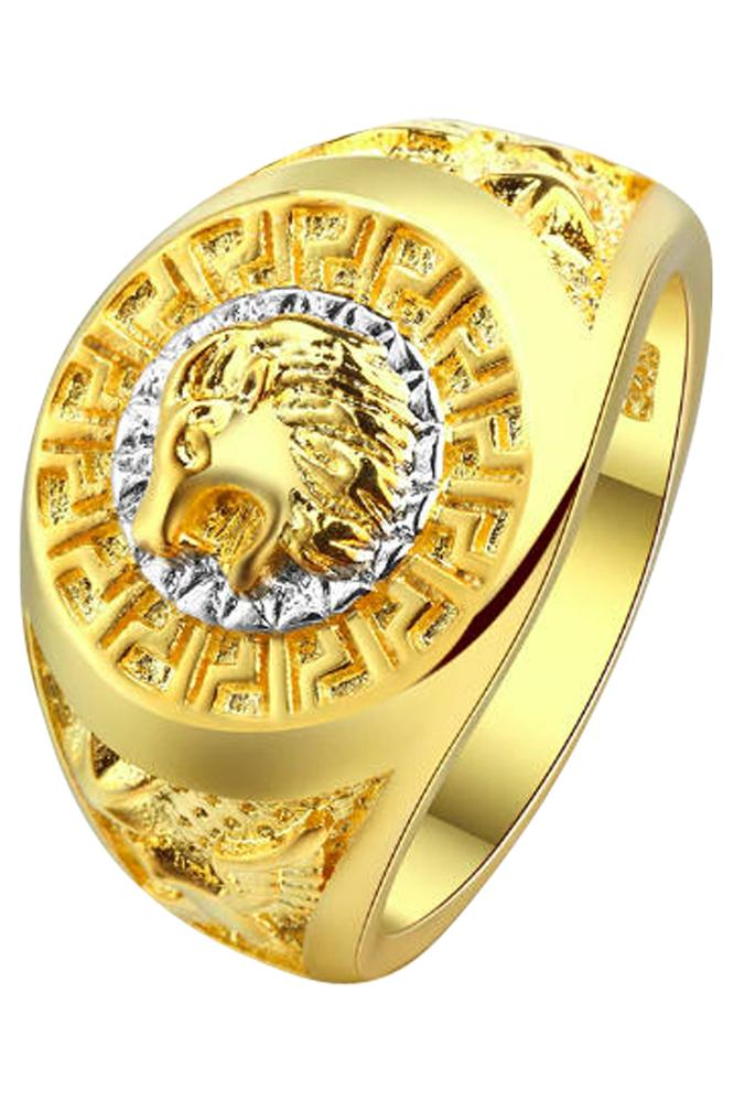 Raw Lion Golden Ring