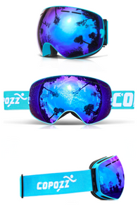 Blue Supreme Snow Mirrors - Seventy Seven