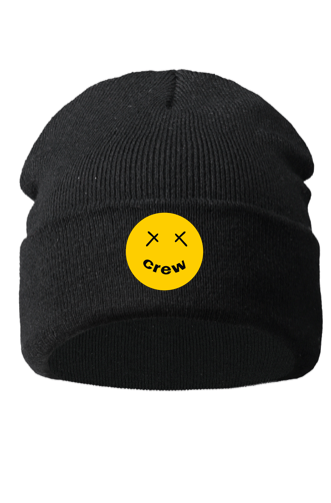 Limited Crew Beanie Black