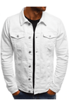 Shadez New York Denim Jacket White