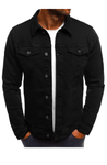 Shadez New York Denim Jacket Black