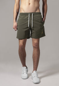 Block Swim Shorts - Army