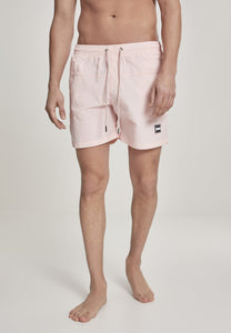 Block Swim Shorts - Pink