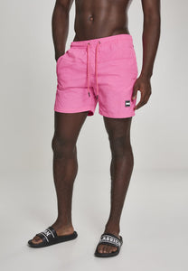 Block Swim Shorts - Neonpink