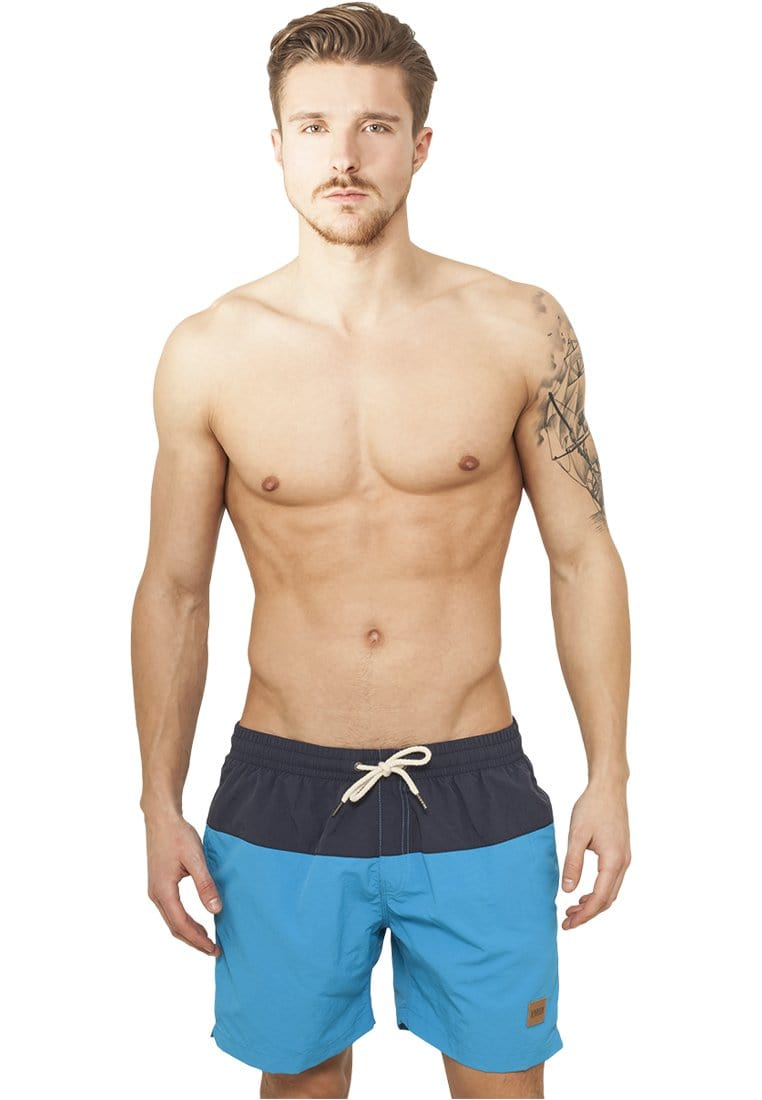 Block Swim Shorts - Navy/Blue