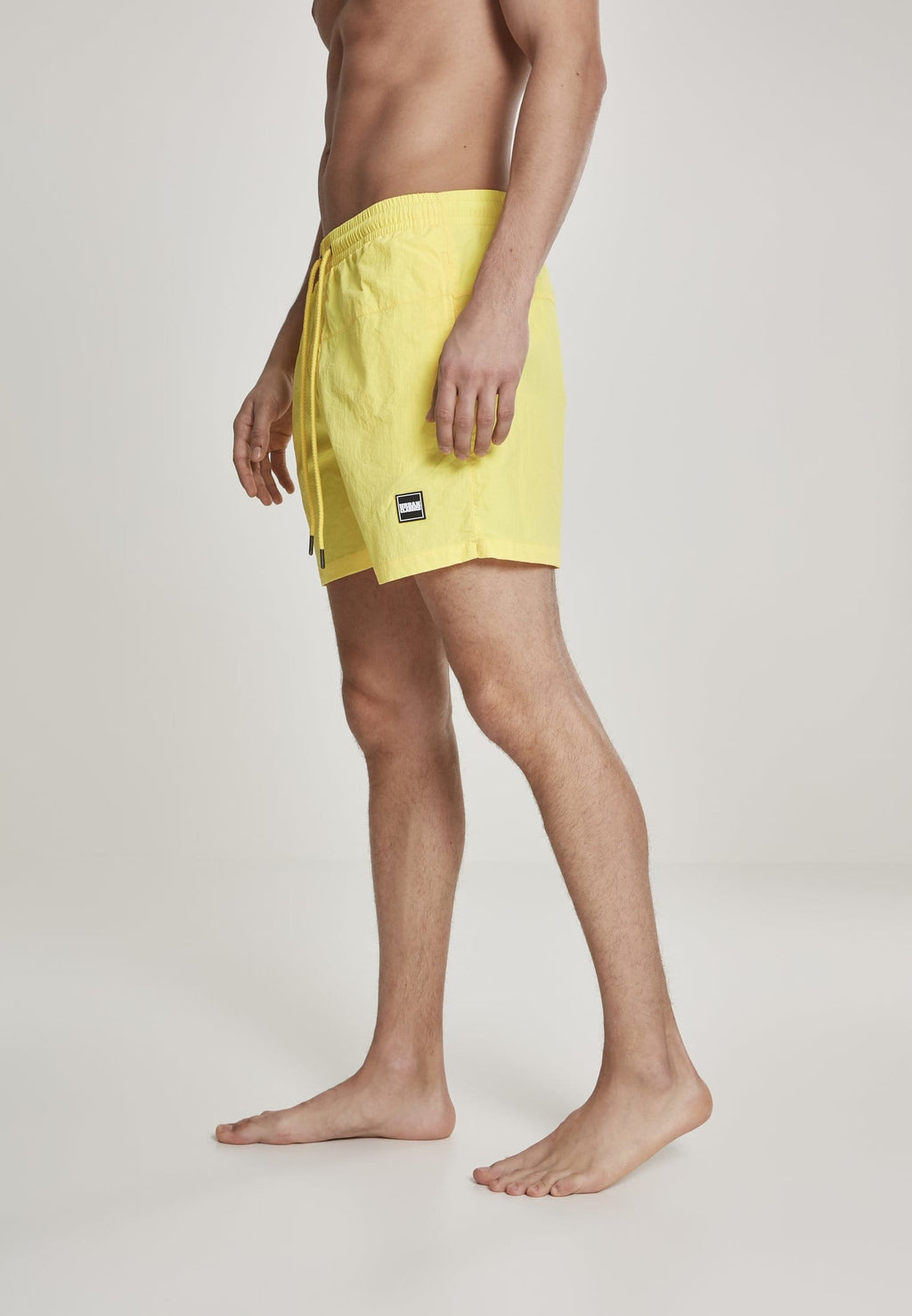 Block Swim Shorts - Neongul