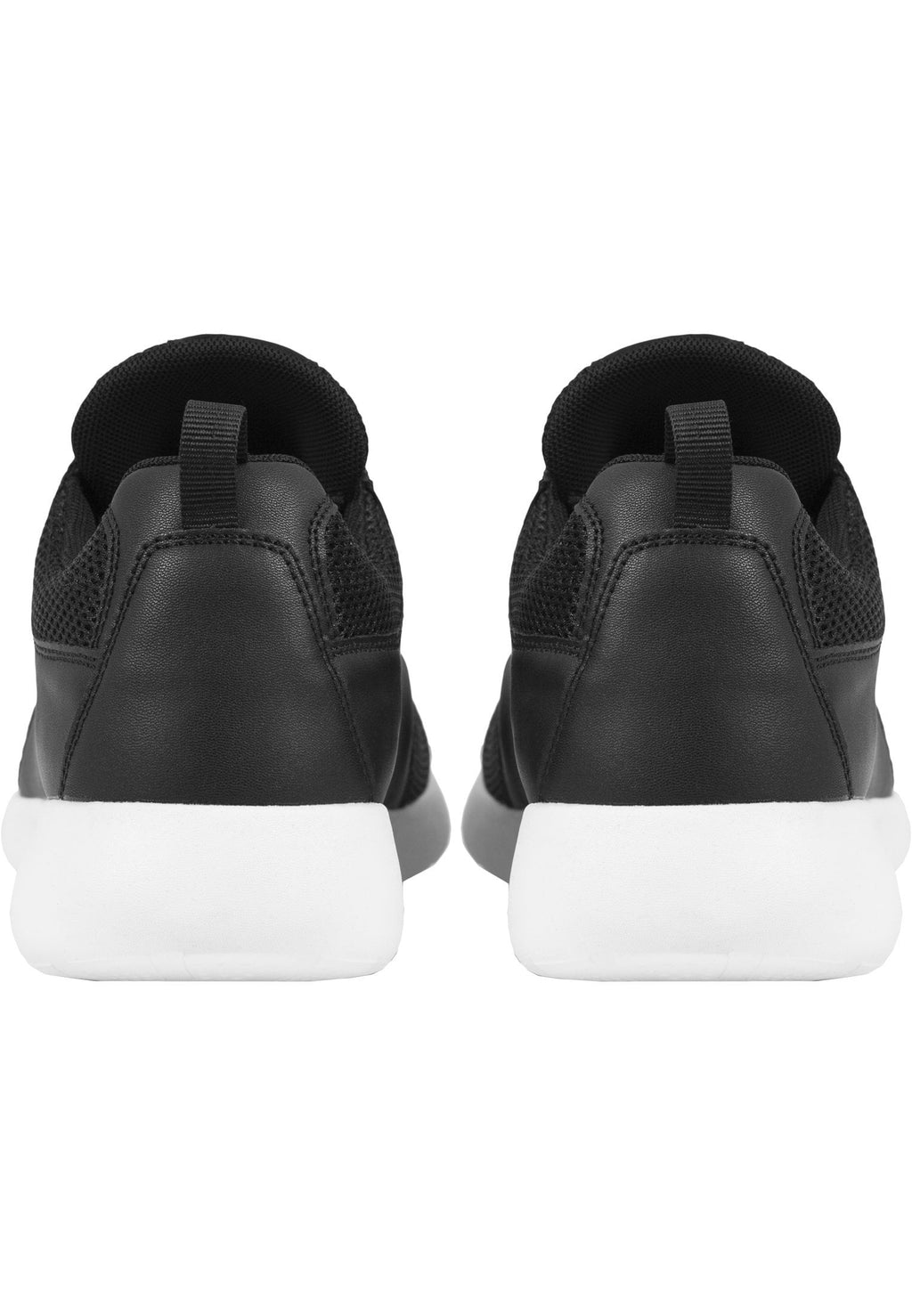 Light Runner Shoe - Black n White