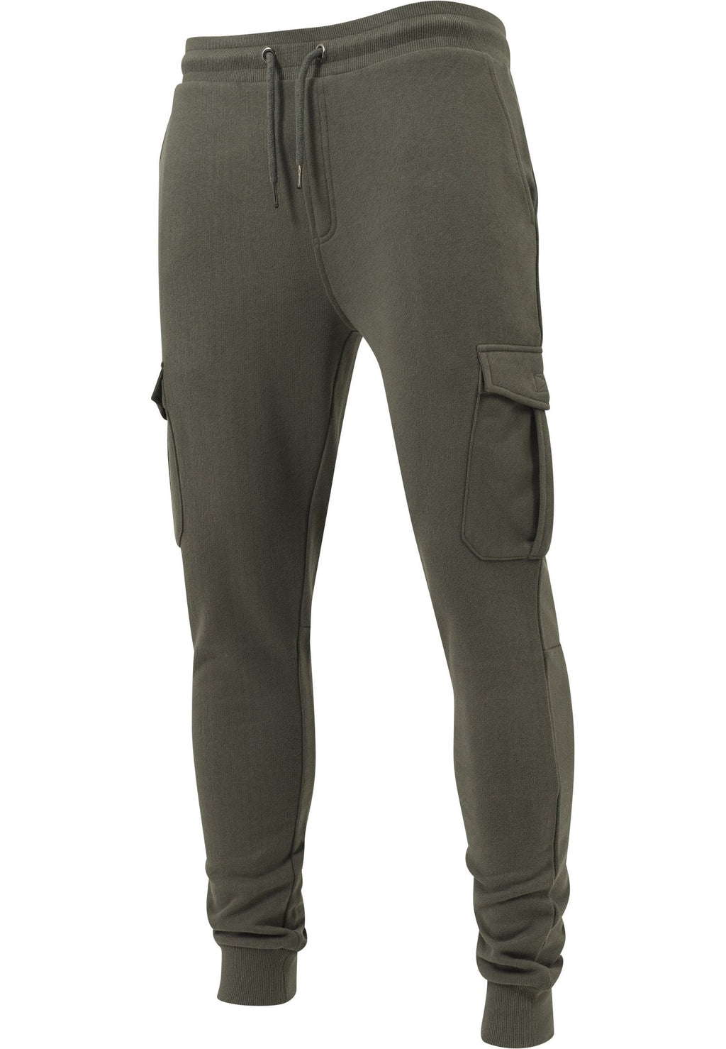 Fitted Cargo Sweatpants - Army