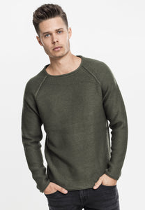 Raglan Wideneck Sweater - Army