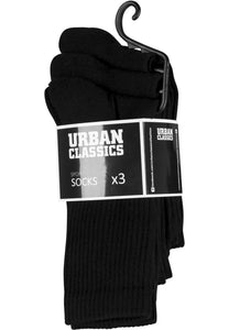Sport Socks 3-Pack - Black