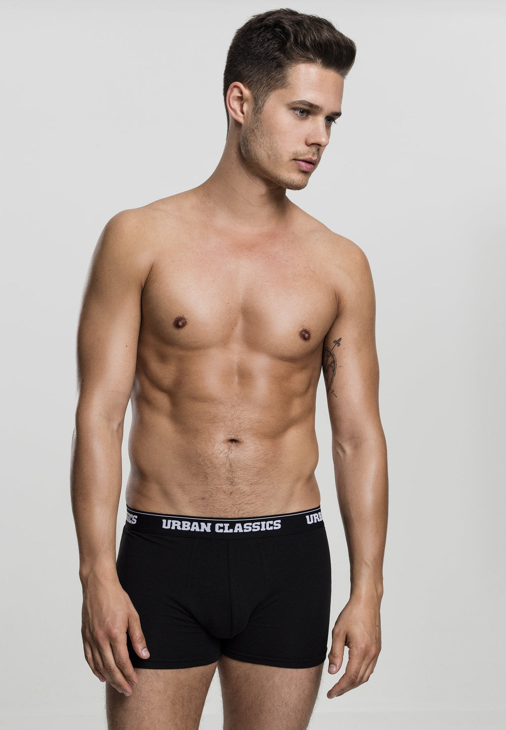 Modal Boxer Shorts Double-Pack - Black