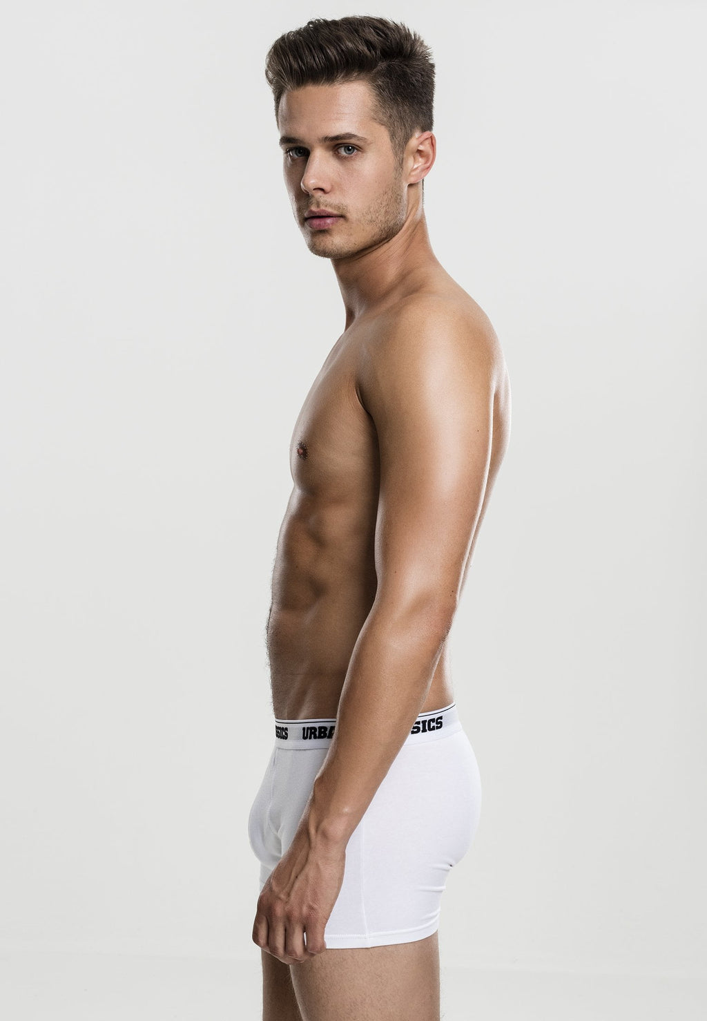 Modal Boxer Shorts Double-Pack - White