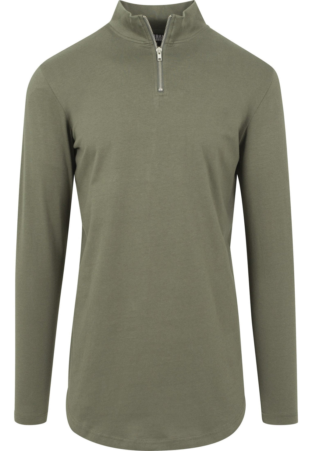 Long Shaped Turtle Zip Longsleeve - Army