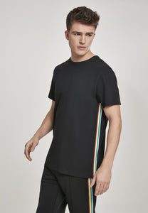 Side Taped Tee - Black