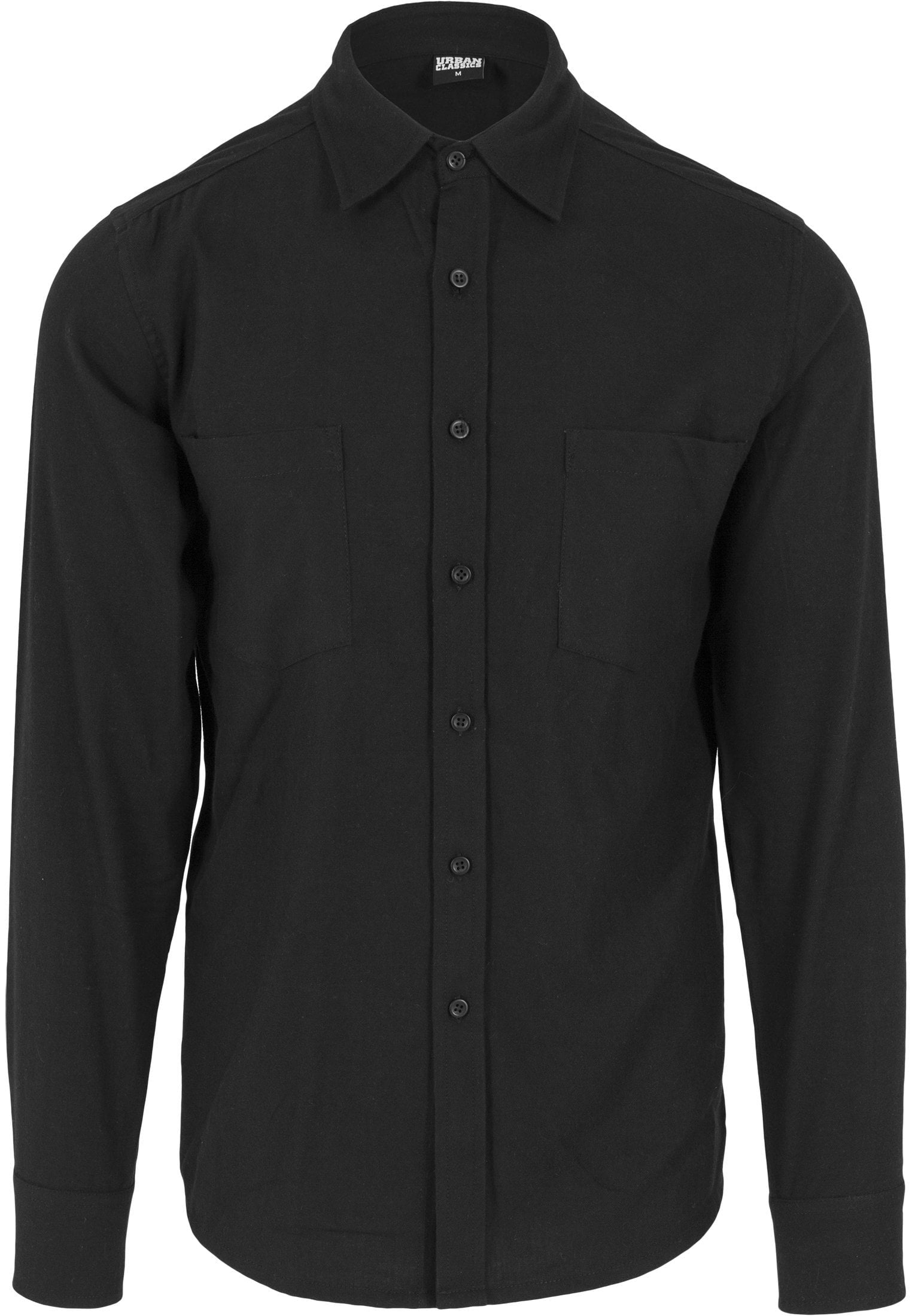 Image of   Checked Flanell Shirt - Black