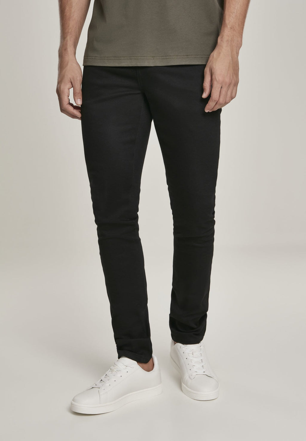 Slim Fit Jeans - Raw Black