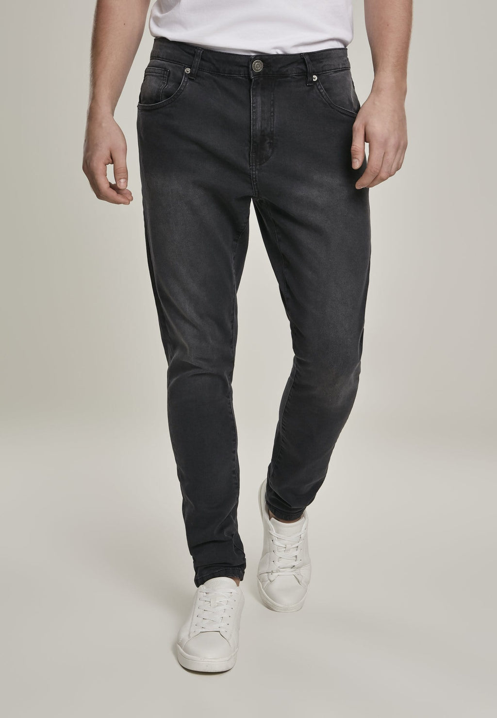 Slim Fit Jeans - Washed Black
