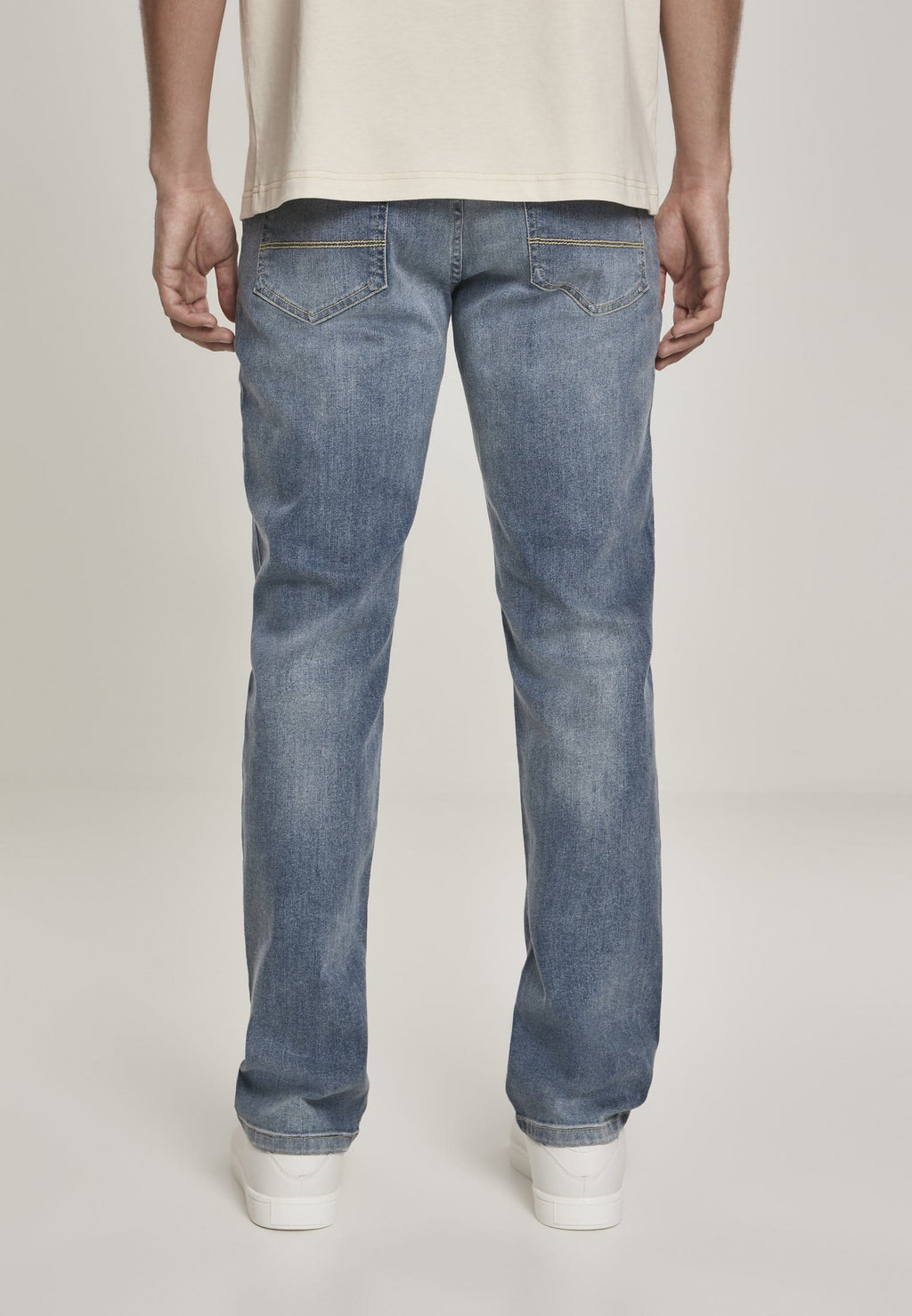 Relaxed Fit Jeans - Light Blue Wash