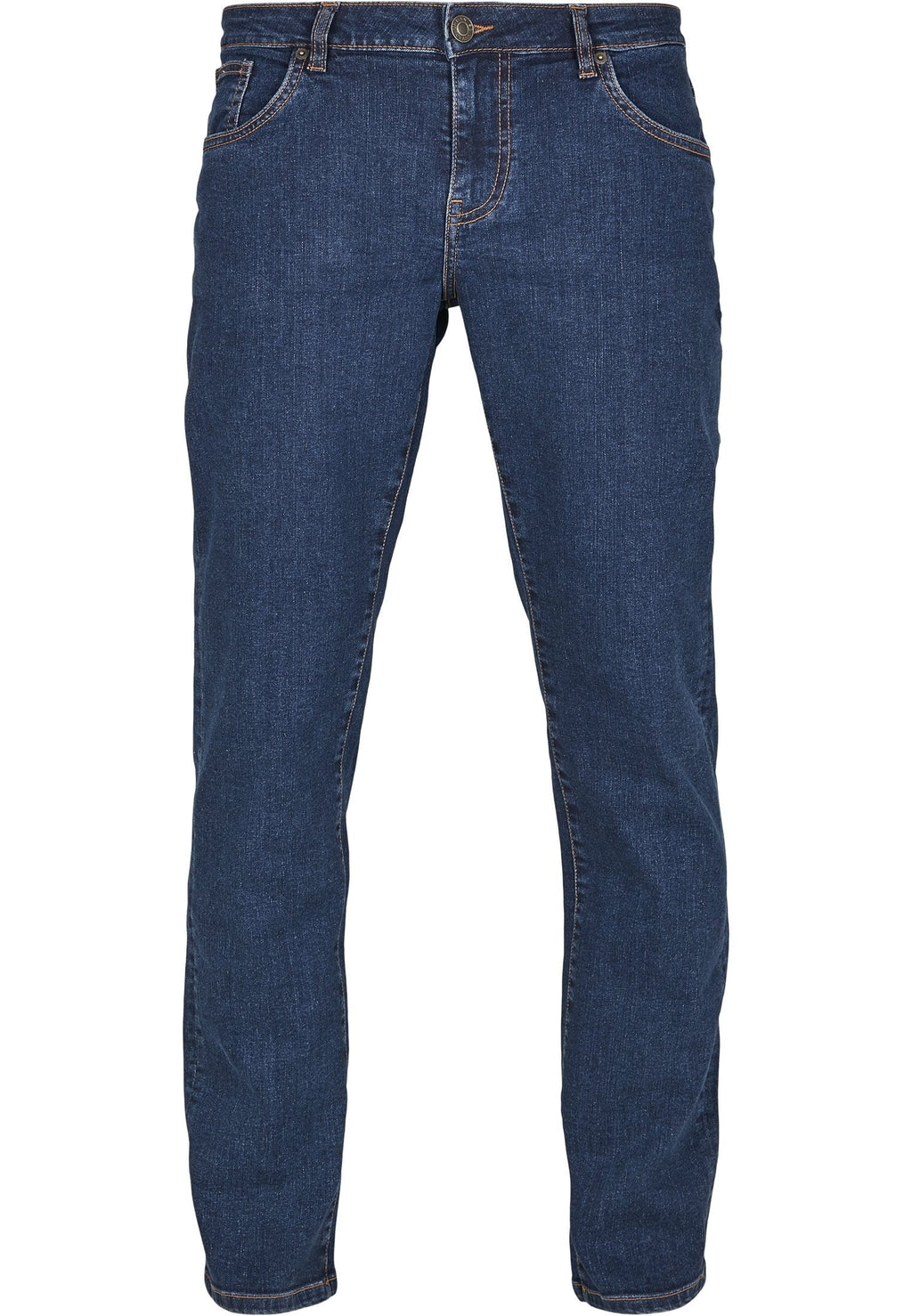 Relaxed Fit Jeans - Dark Blue Wash