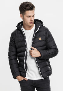 Basic Bubble Jacket - Black
