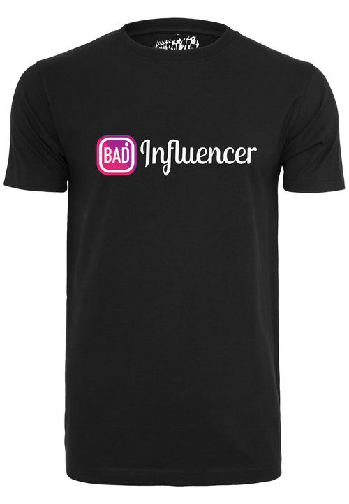 Bad Influencer Tee - Black