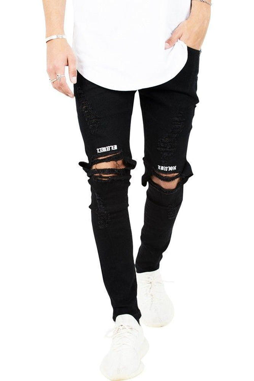 ripped jeans mænd