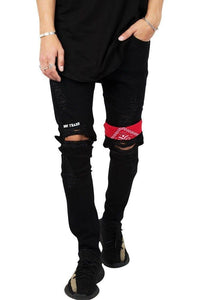 "Jeans-tilbud: Basic Slim Fit Jeans + ""Not Trash"" Ripped Rare Black Jeans"