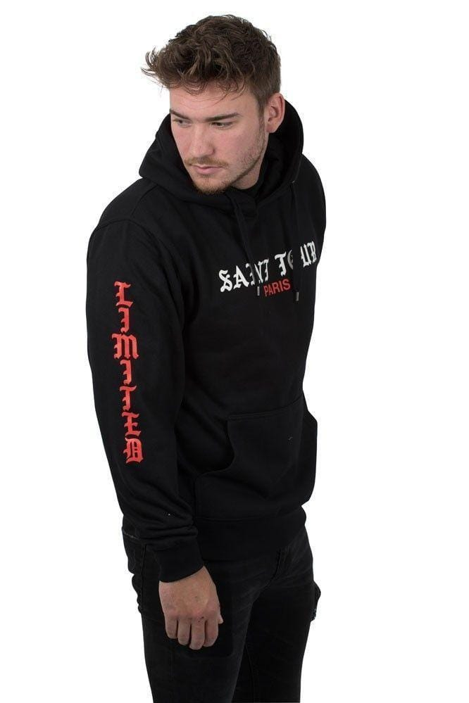"""Limited Crew"" Saint Tour Hoodie - Black"