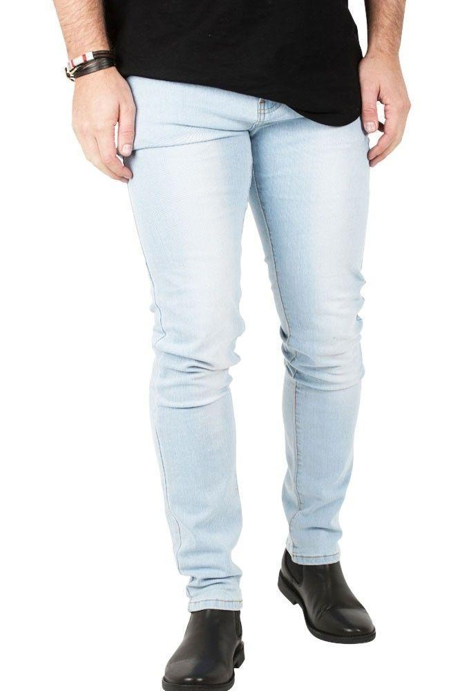 Jeans-tilbud: Basic Slim Fit Jeans + Blue Basic Slim Fit Jeans