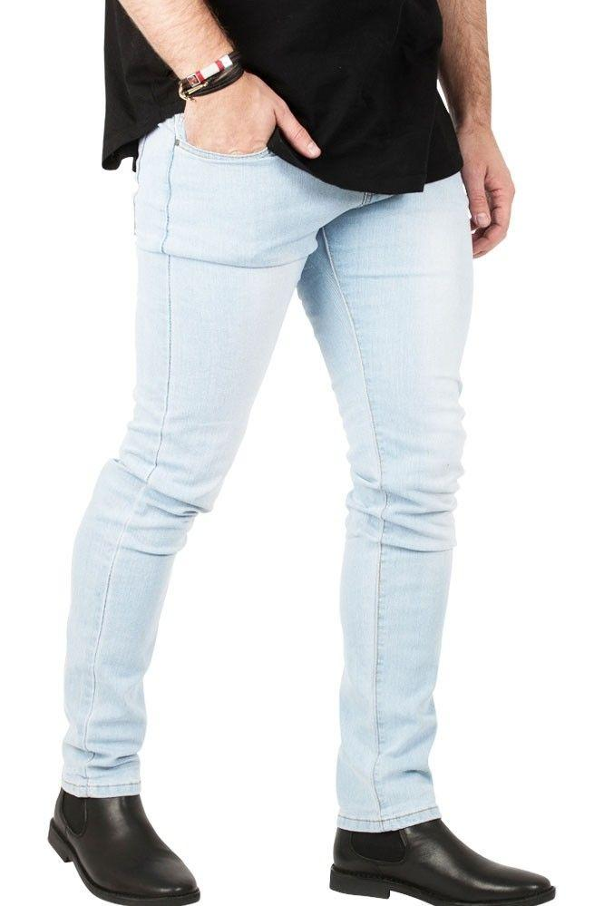 Image of   Shadez Blue Basic Slim-Fit Jeans