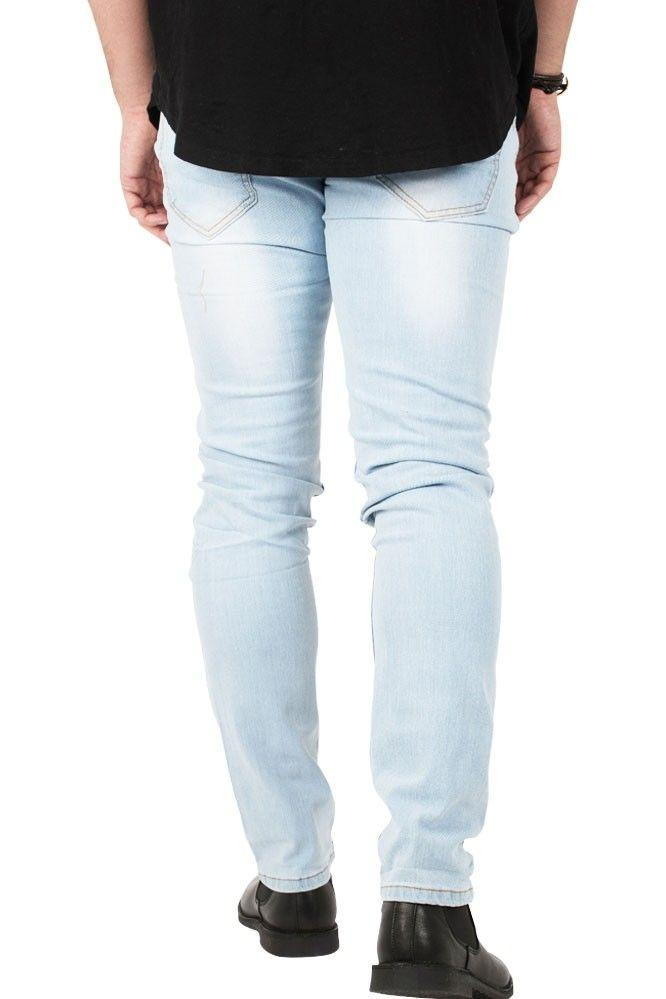 Shadez Blue Basic Slim-Fit Jeans