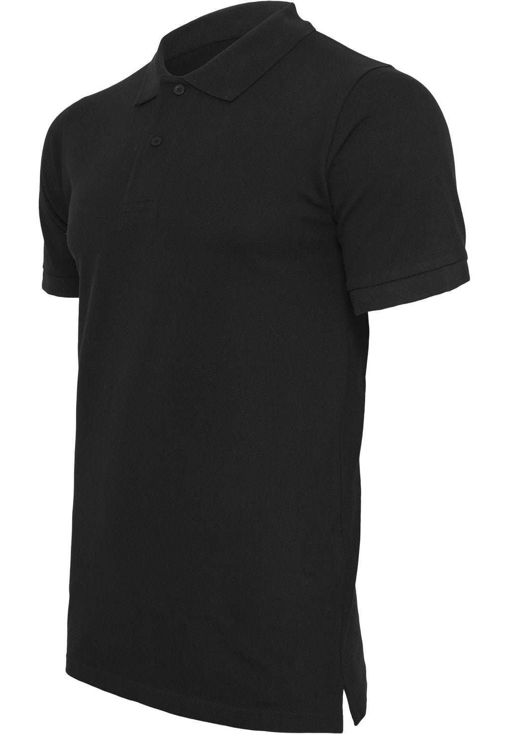 Basiz Pique Polo Shirt - Black