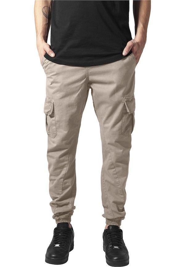 Image of   Cargo Jogging Pants - Sand